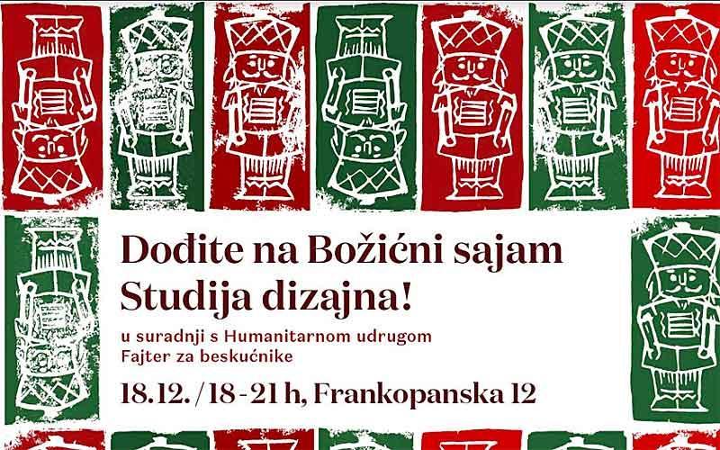 Humanitarni Božićni sajam Studija dizajna