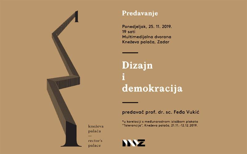 Dizajn i demokracija – predavanje Fedje Vukića