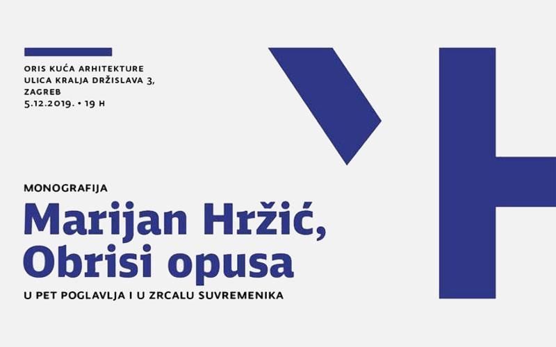 Predstavljanje monografije 'Marijan Hržić, obrisi opusa'