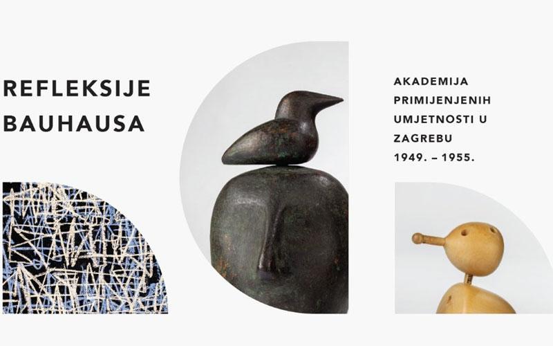 Refleksije Bauhausa: Akademija primijenjenih umjetnosti u Zagrebu 1949. – 1955.