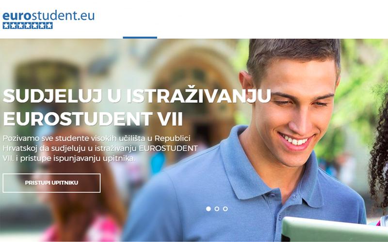 Poziv na sudjelovanje u istraživanju EUROSTUDENT VII