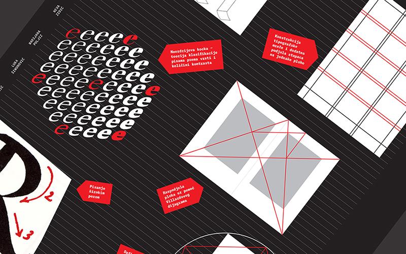 Tipografske crtice – poduka u području oblikovanja pisma i tipografije na Studiju dizajna